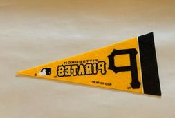 "MLB Pittsburgh Pirates Baseball Mini Pennant 4""x9""  Banner F"