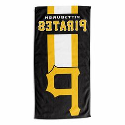 MLB Pittsburgh Pirates Beach Towel Bath Towel Zone-Read-Beac