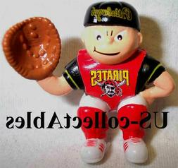 MLB Pittsburgh Pirates Catcher Sports Brat Keychain NEW Clas