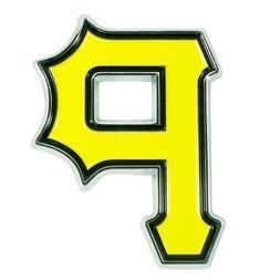 Fanmats MLB Pittsburgh Pirates Diecast 3D Color Emblem Car T