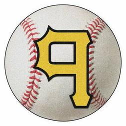 FANMATS MLB Pittsburgh Pirates Nylon Face Baseball Rug