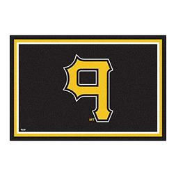 FANMATS MLB Pittsburgh Pirates Nylon Face 5X8 Plush Rug