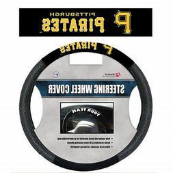 Fremont Die MLB Pittsburgh Pirates Poly-Suede Steering Wheel