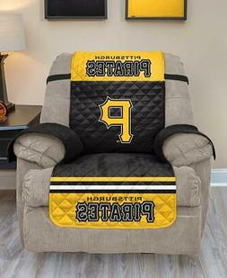 MLB PITTSBURGH PIRATES REVERSIBLE ARMCHAIR RECLINER FURNITUR