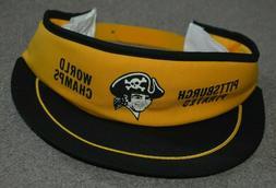 NEW Vtg Pittsburgh Pirates World Champs 1979 Snapback Sun Vi