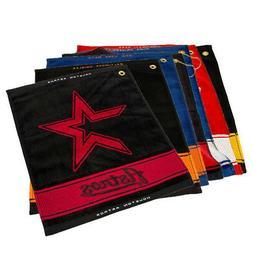 NEW Team Golf Woven Towel For Golf Bag - Choose Favorite Pro