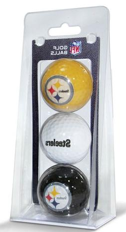 NFL Pittsburgh Steelers 3-Pack Golf Balls