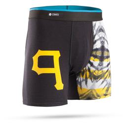 NWT $25 Stance x MLB Pittsburgh Pirates Tie Dye Boxer Brief,