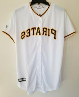 NWT Pittsburgh Pirates Majestic Cool Base Men's, Youth Jerse