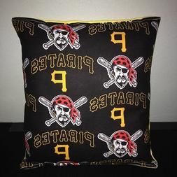 Pirates Pillow Pittsburgh Pirates MLB Pillow Handmade in USA