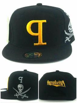 Pittsburgh New Leader Jumbo Pirates Black Gold Jolly Roger E