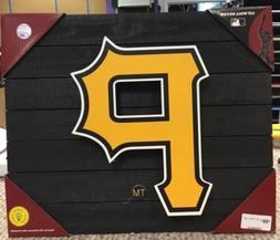 "Pittsburgh Pirates 15"" x 18"" Lit Wall Light Up Decor Display"