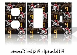 Pittsburgh Pirates #2 Light Switch Covers Baseball MLB Home