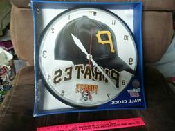 """PITTSBURGH PIRATES 2011 WALL CLOCK 12"""" inch NEW"""