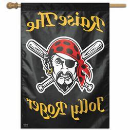 "PITTSBURGH PIRATES  28""X40"" HOUSE FLAG OR WALL BANNER MLB LI"