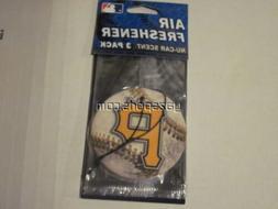 Pittsburgh Pirates 3 Pack Air Freshener