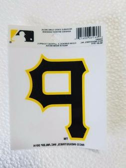 "Pittsburgh Pirates 3"" x 4"" Small Static Cling P Logo Truck C"