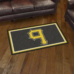Pittsburgh Pirates 3' X 5' Decorative Ultra Plush Carpet Are