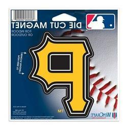 "Pittsburgh Pirates WinCraft 5"" Die-Cut Car Magnet"