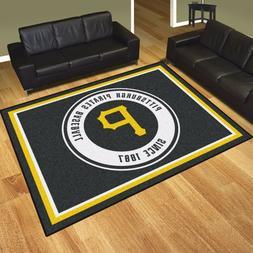 Pittsburgh Pirates 8' X 10' Decorative Ultra Plush Carpet Ar