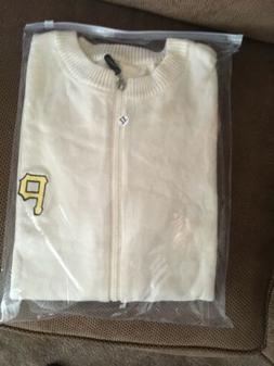 Pittsburgh Pirates Adult XL Mr Rogers Cardigan Sweater SGA 8