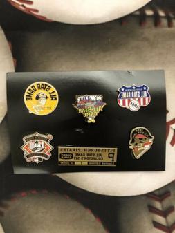 Pittsburgh Pirates All Star Logo Pin Set