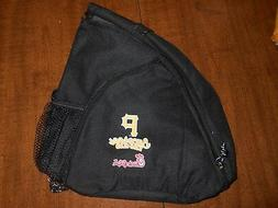 pittsburgh pirates backpack/pouch with zipper compartments