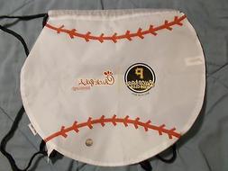 pittsburgh pirates baseball drawstring bag