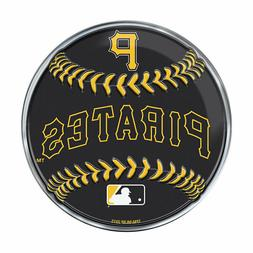 "Pittsburgh Pirates Baseball Emblem MLB 3.25"" x 3.25"""