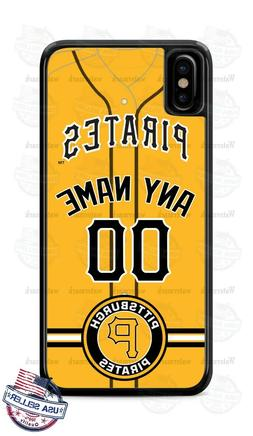 PITTSBURGH PIRATES BASEBALL PHONE CASE COVER FOR iPHONE SAMS