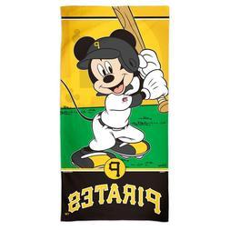 "PITTSBURGH PIRATES BASEBALL MICKEY MOUSE 30""X60"" SPECTRA BEA"