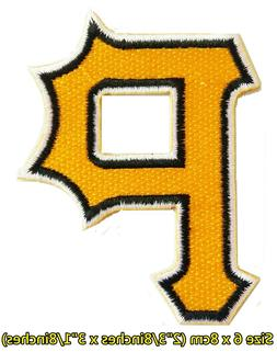 Pittsburgh Pirates Baseball Sport Embroidery Patch logo iron