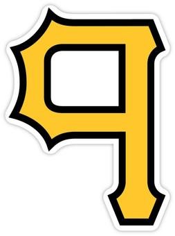 Pittsburgh Pirates Baseball Sticker Decal for Cornhole Car W