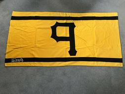 "Pittsburgh Pirates Beach Bath Towel 100% Cotton 55"" X 27"" Co"
