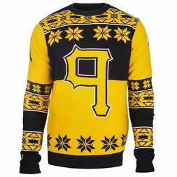 Pittsburgh Pirates Big Logo MLB Ugly Sweater