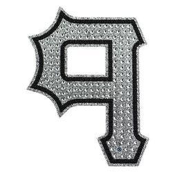 "Pittsburgh Pirates Bling Auto Emblem 6.25"" x 6.25"""
