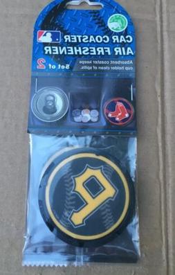 Pittsburgh Pirates Car Coaster Air Freshener - MLB