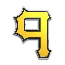 Pittsburgh Pirates Die Cut Metal Auto Emblem  MLB Car Truck