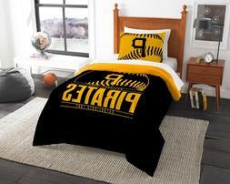 "Pittsburgh Pirates ""Grand Slam"" Twin Comforter & Sham Set"