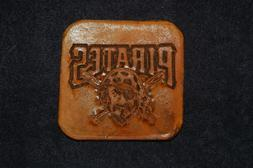 Pittsburgh Pirates Hand Embossed Leather Coasters