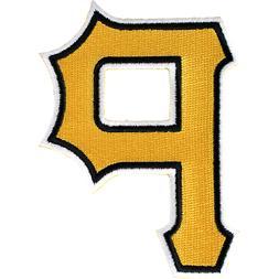 Pittsburgh Pirates 'P' Hat Logo Patch