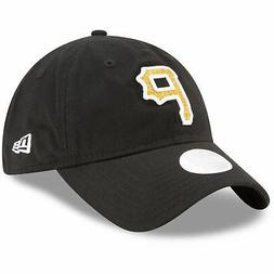 Pittsburgh Pirates Hat New Era Women's Team Glisten  Adjusta