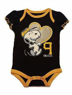 Pittsburgh Pirates Infant Girls Creeper Snoopy Peanuts Baby