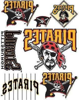 Pittsburgh Pirates Iron On T Shirt Pillowcase Fabric Transfe