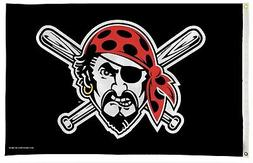 Pittsburgh Pirates Jolly Roger Premium 3x5 Flag Outdoor Hous
