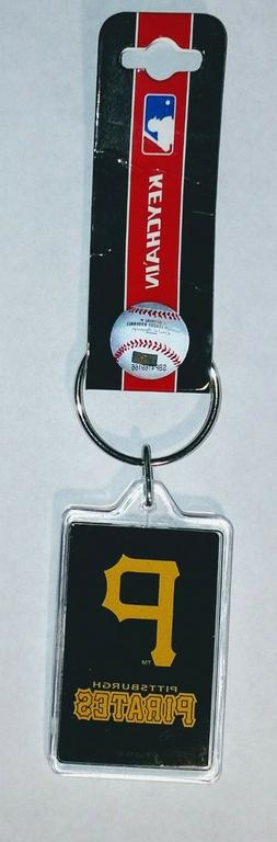 Pittsburgh Pirates Keychains Acrylic Style MLB  NL Central D