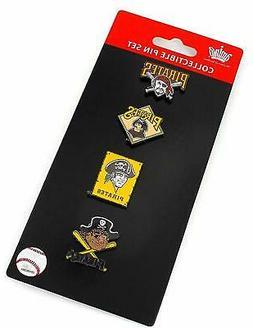 Pittsburgh Pirates Logo MLB Baseball Evolution 4 Piece Lapel