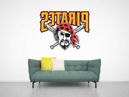 Pittsburgh Pirates logo Wall Decal for Home Interior Decorat