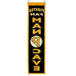 Pittsburgh Pirates Man Cave Banner Pennant 8 X 32