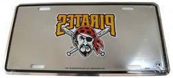 Pittsburgh Pirates Mirrored License Plate
